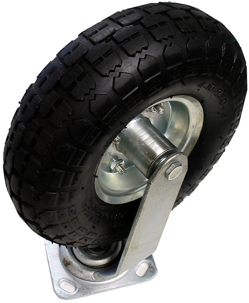 "CASTER, 10"" AIR TIRE, SWIVEL, HEAVY DUTY 6\42, UPC: NONE"